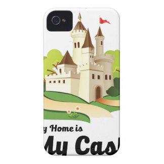 mein Zuhause mein Schloss Case-Mate iPhone 4 Hülle