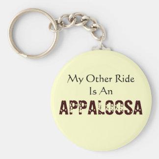 Meine andere Fahrt ist ein Appaloosa Keychain Schlüsselanhänger