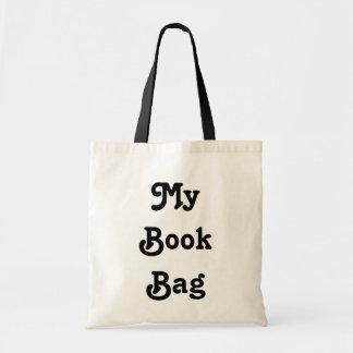 Meine Buch-Taschen-Tasche Budget Stoffbeutel