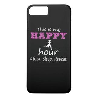 Meine glückliche Stunde! Laufen Sie, schlafen Sie, iPhone 8 Plus/7 Plus Hülle