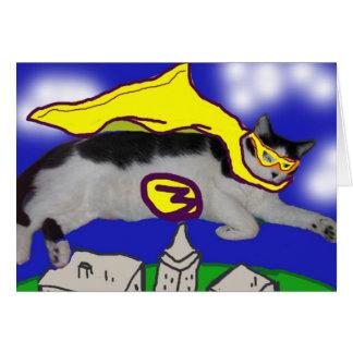 Meine Held-Katze Karte