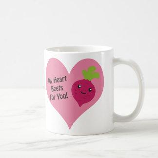 Meine Herz-roten Rüben für Sie Tasse