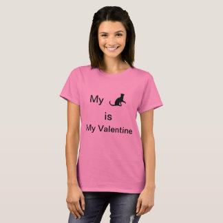 Meine Katze ist mein Valentine T - Shirt