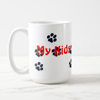 Meine Kinder haben Tatzen Kaffeetasse