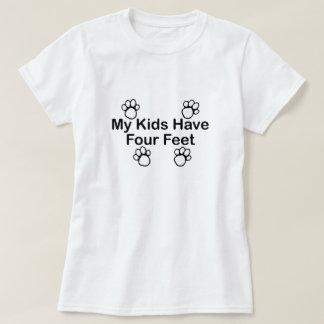 Meine Kinder haben vier Fuß T-Shirt
