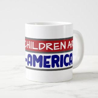 Meine Kinder sind - Hundeliebhaber Extragroße Tassen