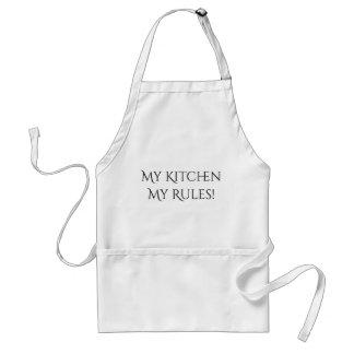 Meine Küche meine Regel-Schürze Schürze