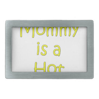 Meine Mama ist eine heiße Dose Rechteckige Gürtelschnallen