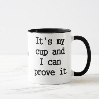 Meine Schale Tasse