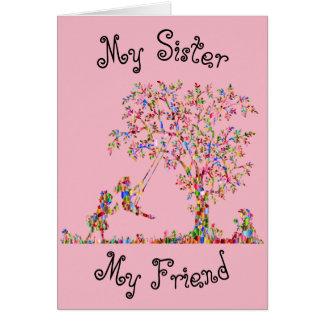 Meine Schwester, mein Freund Karte