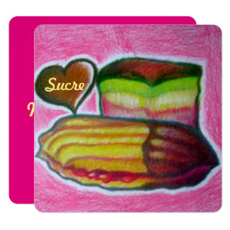 meine süße Valentinsgruß-/sucre-Karte Karte