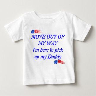 Meinen Vati hier aufheben Baby T-shirt
