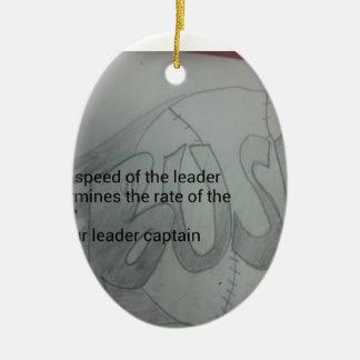 Meister Ovales Keramik Ornament