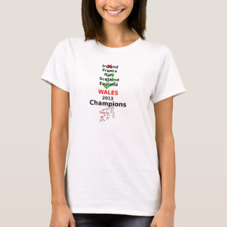 Meister-Rugby Wales 2013 T-Shirt