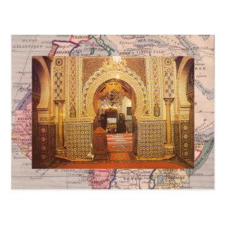 Meknes, Moschee, Marokko Postkarte