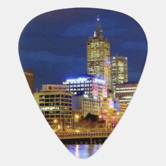 Melbourne, Australien. Eine Nachtzeitansicht der 2 Plektron
