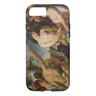 Meleager und Atalanta (Öl auf Leinwand) iPhone 8/7 Hülle