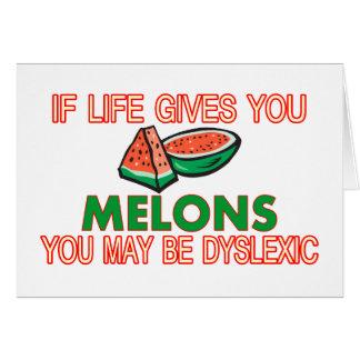 Melone-Dyslexie Karte
