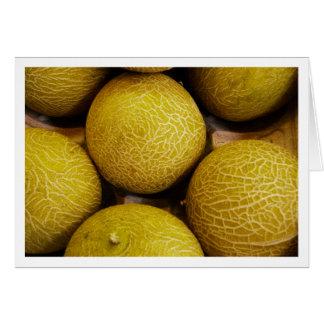 Melonen im Burough Straßenmarkt- Karte