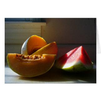 Melonen in Sun Karte