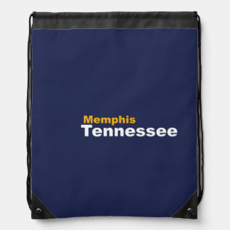 Memphis, Tennessee Drawstring-Rucksack Sportbeutel