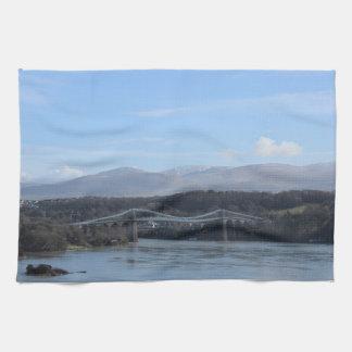 Menai Straße-Brücke - Anglesey/Wales Küchentuch