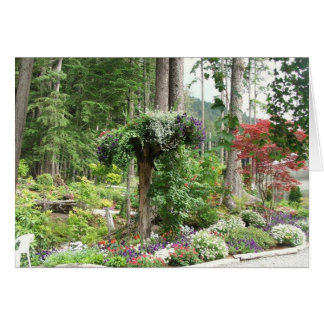 Mendenhall Gärten, Juneau Alaska Karte