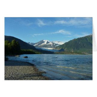 Mendenhall See in Juneau Alaska Karte