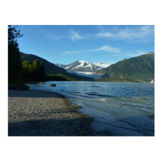 Mendenhall See in Juneau Alaska Postkarte