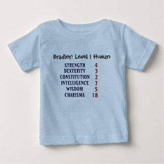 Mensch des Niveau-1 Baby T-shirt