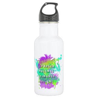 Mensch-Seepferd-Freude im Freien Trinkflaschen