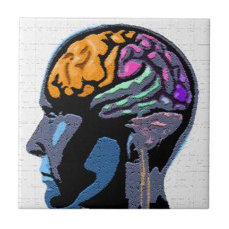 Menschenverstand-Straßen-Kunst Keramikfliese