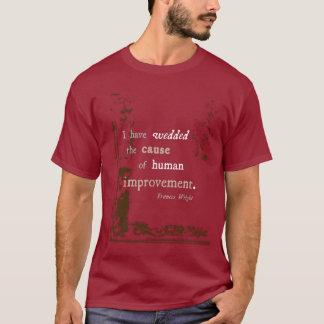 Menschliche Verbesserung T-Shirt