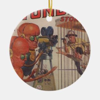 Menschlicher Zoo Keramik Ornament