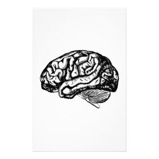 menschliches Gehirn Individuelle Druckpapiere