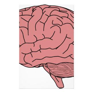 Menschliches Gehirn Personalisierte Druckpapiere