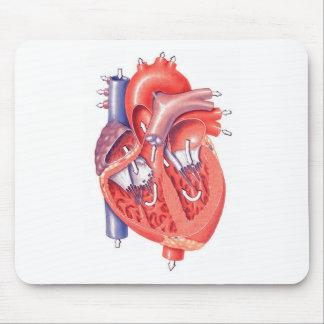 Menschliches Herz Mauspad