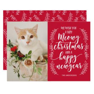 Katzen Weihnachtskarten auf Zazzle Österreich