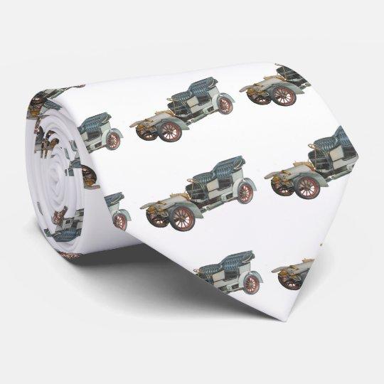 Mercedes Benz Oldtimer Bedruckte Krawatte