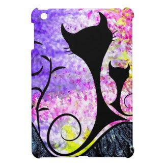 Messemios - schwarze Katzen iPad Mini Hülle