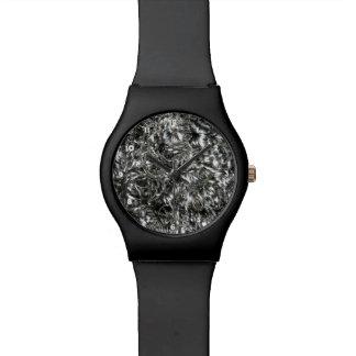 Messingsilber Armbanduhr