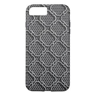 Metall StachelQuatrefoil iPhone 8 Plus/7 Plus Hülle