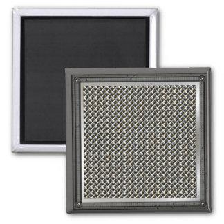 Metallchrom verbindet Grill-Magneten Quadratischer Magnet
