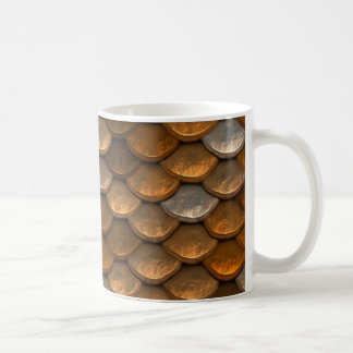 Metallische Goldsilber-Kupfer-Kaffee-Tasse Kaffeetasse