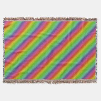 metallische Regenbogen-Glitterbeschaffenheit Decke