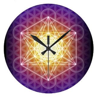 Metatrons Würfel/Blume der Leben-Uhr Uhren