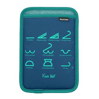 Meteorologie iPad Mini Sleeve