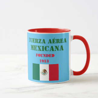 Mexikanische Luftwaffen-Kaffee-Tasse Tasse