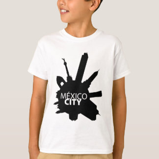 Mexiko City Rounded T-Shirt