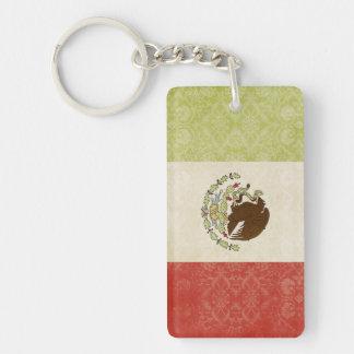 Mexiko-Flaggen-Schlüsselketten-Andenken Schlüsselanhänger